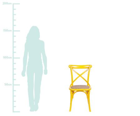 Cadeira Cross - Amarela | WestwingNow