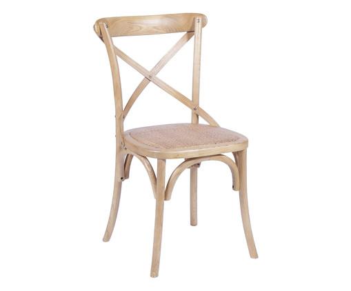 Cadeira Cross - Natural, Marrom, Colorido | WestwingNow
