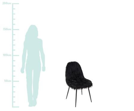 Cadeira Pelúcia - Preta | WestwingNow