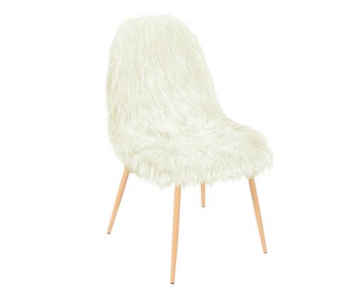 Cadeira Pelúcia - Branca, Branco | WestwingNow