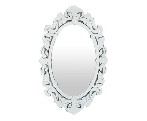 Espelho de Parede Veneziano Hugo - Prateado, Espelhado | WestwingNow