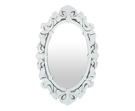 Espelho de Parede Veneziano Hugo - Prateado | WestwingNow