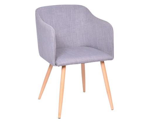 Cadeira Lia - Cinza e Natural, Branco, Colorido | WestwingNow