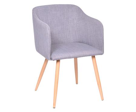Cadeira Lia - Cinza e Natural | WestwingNow