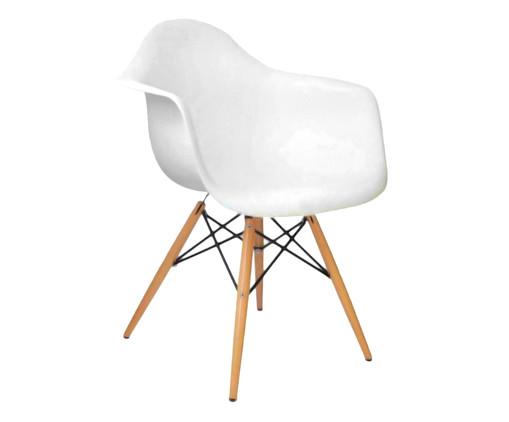 Cadeira Finella Wood - Branca, Branco, Colorido | WestwingNow