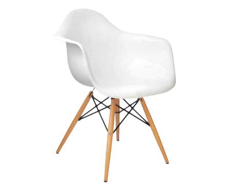 Cadeira Finella Wood - Branca | WestwingNow