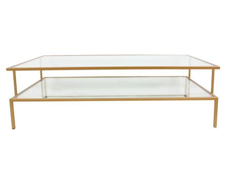 Mesa de Centro Retangular Statment - Dourado | WestwingNow