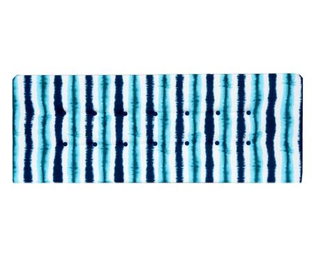 Cabeceira Painel em Linho com Botões West - Azul | WestwingNow