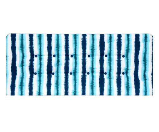 Cabeceira Painel em Linho com Botões West - Azul, Verde | WestwingNow