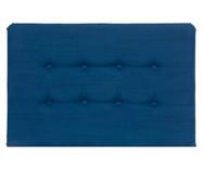 Cabeceira em Linho com Botões Donna - Azul Marinho | WestwingNow