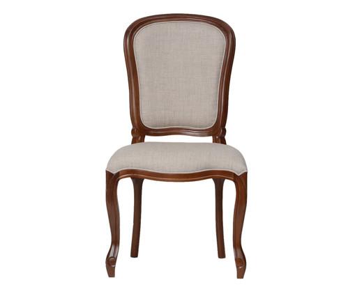Cadeira de Madeira Luiz Felipe - Marrom Escuro, Branco, Colorido | WestwingNow
