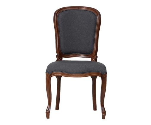 Cadeira de Madeira Luiz Felipe - Cinza, Branco, Colorido | WestwingNow