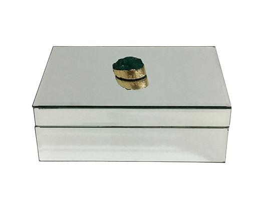 Caixa Decorativa Chloé - Espelhada, Espelhado | WestwingNow