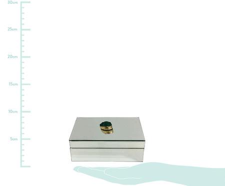 Caixa Decorativa de Vidro Chloé - Espelhada | WestwingNow