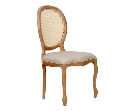 Cadeira Medalhão com Palha - Cru | WestwingNow