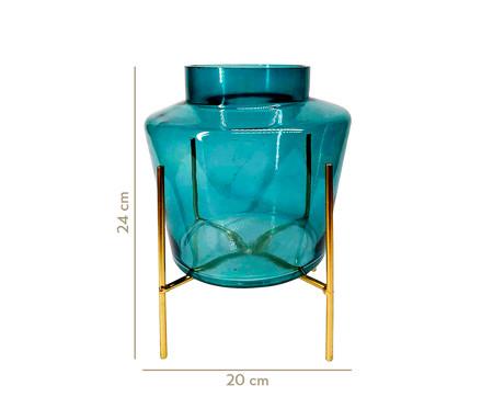 Vaso Saci - Azul e Dourado | WestwingNow