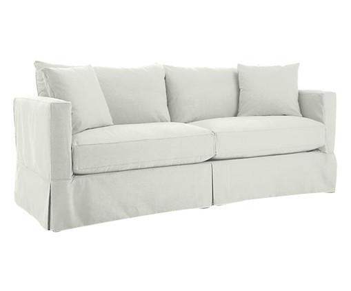 Sofá de Sarja Aik - Branco, bege | WestwingNow