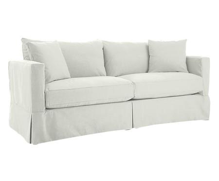 Sofá de Sarja Aik - Branco | WestwingNow