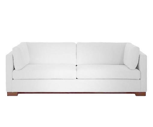 Sofá em Suede Albert - Branco, Branco | WestwingNow