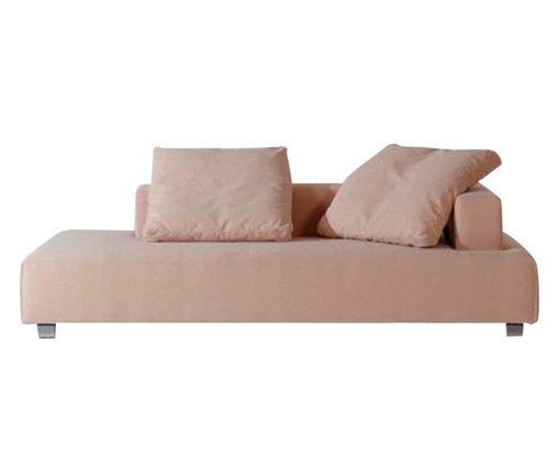 Chaiselongue Ch Tove Direito - Mel, Bege, Colorido | WestwingNow