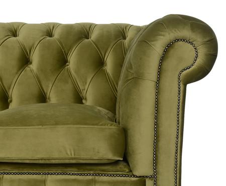 Sofá Chesterfield em Veludo - Verde Vintage | WestwingNow