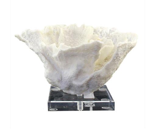 Adorno Decorativo de Resina Letra - Branco, Branco | WestwingNow