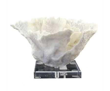 Adorno Decorativo de Resina Letra - Branco | WestwingNow