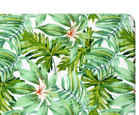 Cabeceira Painel em Linho com Botões West - Verde | WestwingNow