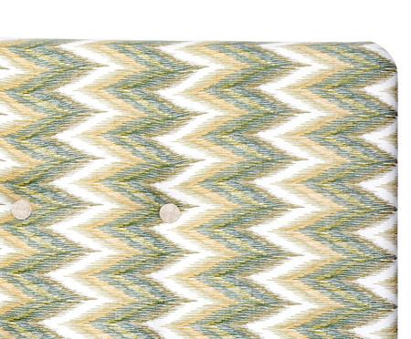 Cabeceira Painel em Linho com Botões West - Ocre | WestwingNow