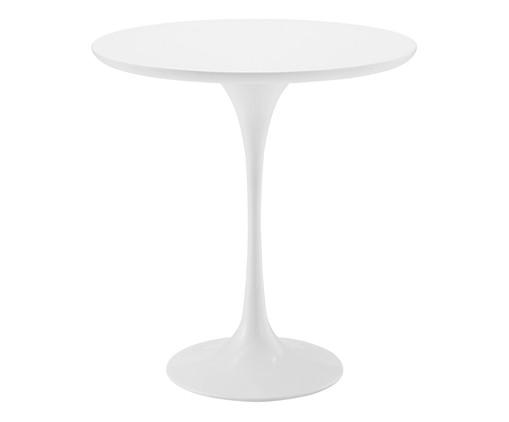 Mesa Lateral Collins - Branca, Branco, Colorido | WestwingNow