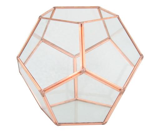 Vaso de Vidro Amana - Rosé, Transparente, Rosé | WestwingNow