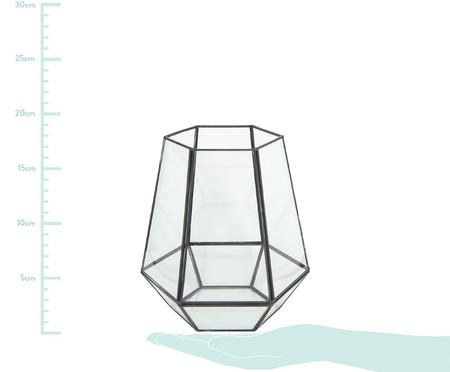 Vaso Iraê - Preto e Transparente | WestwingNow