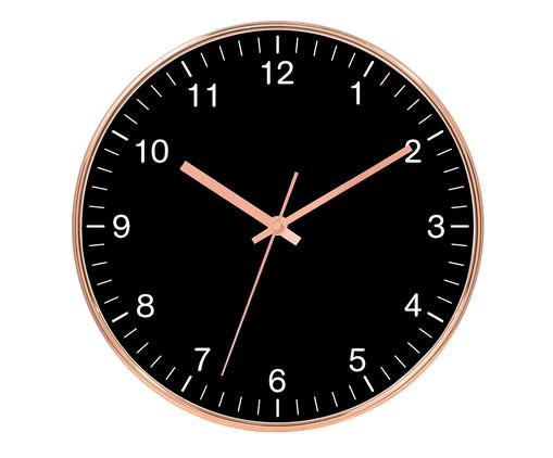 Relógio de Parede Tessa - Preto, Preto | WestwingNow
