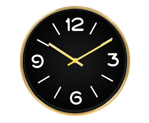 Relógio de Parede Lora - Preto, Preto | WestwingNow