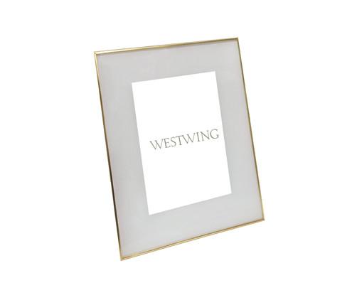Porta-Retrato Annie - Dourado, Prata / Metálico | WestwingNow