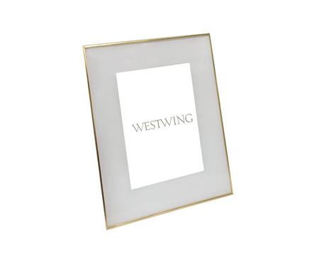 Porta-Retrato Annie - Dourado   WestwingNow