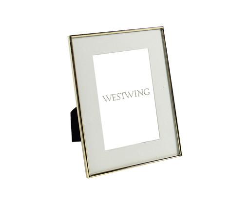 Porta-Retrato Annie - Dourado, Prata / Metálico   WestwingNow
