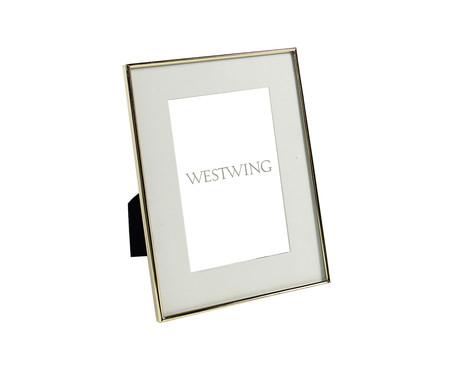 Porta-Retrato Annie - Dourado | WestwingNow