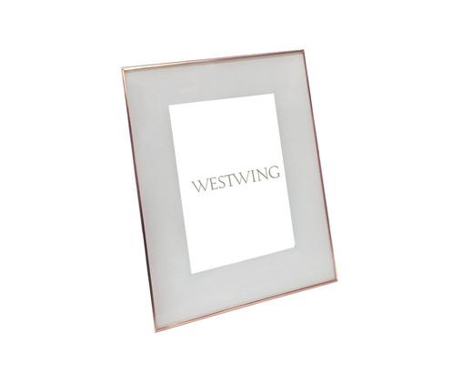 Porta-Retrato Annie - Acobreado, Prata / Metálico | WestwingNow