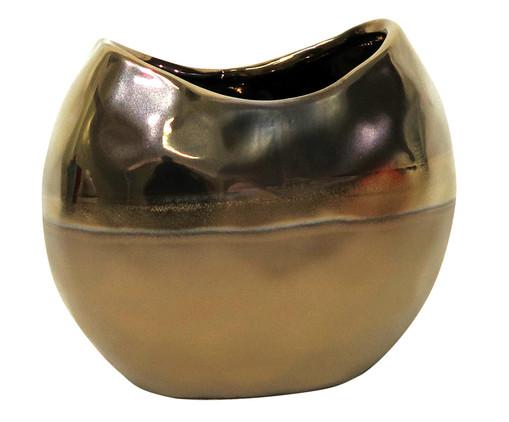 Vaso de Cerâmica Cambuci - Dourado, Dourado | WestwingNow