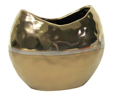 Vaso de Cerâmica Cambuci - Dourado | WestwingNow