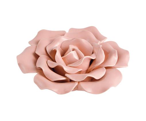 Adorno Rass em Cerâmica - Rosa, Rosa | WestwingNow