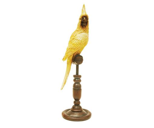 Adorno Cacatua - Amarelo, Amarelo | WestwingNow