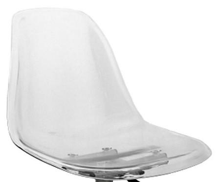 Cadeira Eames com Rodízio - Transparente | WestwingNow