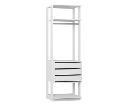 Módulo com Gaveteiro Clothes - Branco | WestwingNow