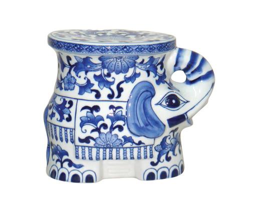 Adorno Keshet - Azul e Branco, Branco, Azul | WestwingNow