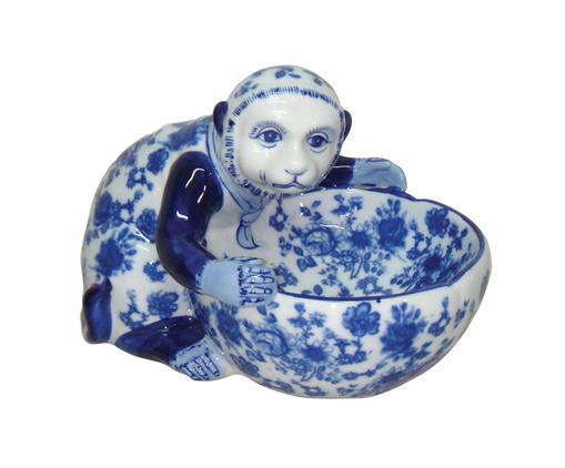 Adorno Vicki - Azul e Branco, Branco, Azul | WestwingNow