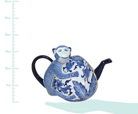 Adorno Whili em Cerâmica - Azul e Branco | WestwingNow