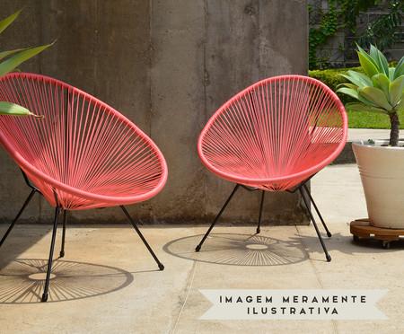 Cadeira Acapulco - Coral | WestwingNow