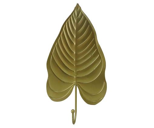Cabideiro de Cerâmica Folha - Dourado, Dourado | WestwingNow